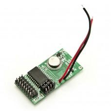 Modulo di trasmissione via radio per accessori cablati - Modulo TX Accessori 433