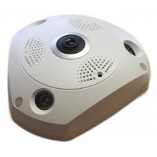Telecamera IP FishEye Wi-Fi - N360-UFO W WI FI