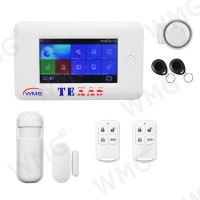 WMG - KIT d'allarme GSM WiFi - TEXAS