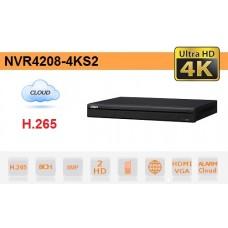 NVR IP 8 CANALI H.265 4K 8MP 200MBPS VIDEO ANALISI - DAHUA - NVR4208-4KS2