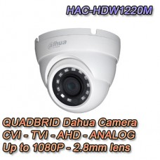 Telecamera 1080P Dahua 4in1 HDCVI / HDTVI / AHD / ANALOGICA 2.8mm - HAC-HDW1220M