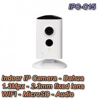 Telecamera IP da interno 1.3MP HD WiFi e IR LED - Serie C - Dahua - IPC-C15