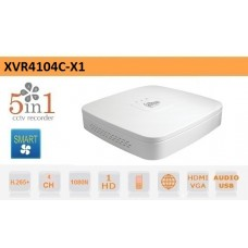 DVR 4 Canali CVI AHD TVI ANALOGICO IP 1080N H.265+ Dahua - XVR4104C-X1 DAHUA