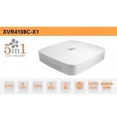 DVR 8 CANALI CVI AHD TVI ANALOGICO IP 1080N H.265+ DAHUA - XVR4108C-X1