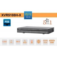 XVR 8 Canali 4M-N HDCVI AHD TVI ANALOGICO IP - Dahua - XVR5108H-X
