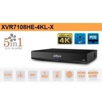 DVR 8 Canali HD CVI AHD TVI ANALOGICO IP 8MP 4K Dahua - XVR7108HE-4KL-X
