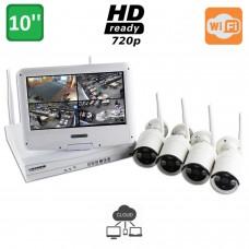 Kit videosorveglianza SMART WiFi 4 720 M10W
