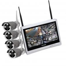 Kit videosorveglianza SMART WiFi 4 720 M12W