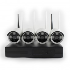 Kit videosorveglianza SMART WiFi 4 720 W