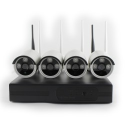 Kit Video Surveillance - SMART WiFi 4 720 W KIT Videosorveglianza