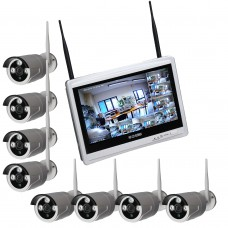 Kit videosorveglianza - SMART WiFi 8 1080 M12W