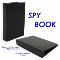 Registratore audio video - SPY BOOK