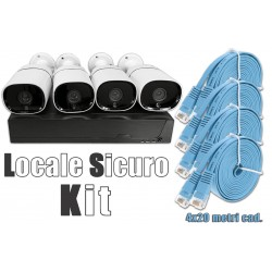 Network Video Recorder - Locale Sicuro Kit